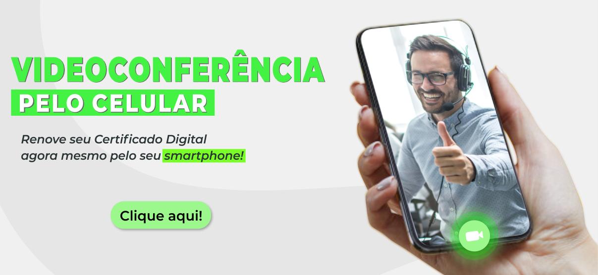Videoconferência para celular