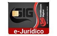e-Jurídico A3  3 ANOS em cartão