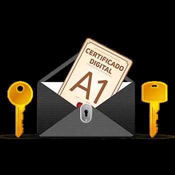 e-CNPJ A1 - 1 ANO em arquivo